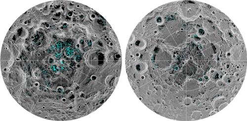 달 표면 얼음 확인 식민지 건설 되나?