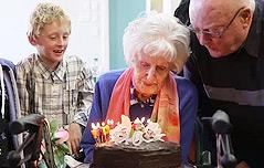 110세 할머니 장수비결…남자들 덕분?
