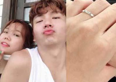 """""""10월에 결혼해요""""…홍현희♥제이쓴, 커플링+커플 사.."""