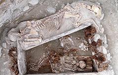 몽골서 2천400년전 옆으로 누운 인골 발굴