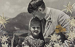 히틀러, 유대인소녀와 찍은 사진 경매 나와