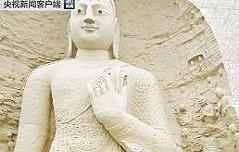 중국 윈강석굴 대형 불상 3D프린터 복제성공