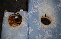 전기장판 위에 라텍스 매트 깔면 화재 위험