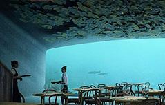 노르웨이 해저 레스토랑 내년 4월 문 연다