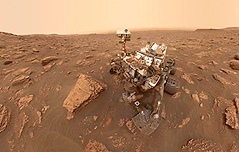 `붉은행성` 탐사 로버 `큐리오시티`의 하루
