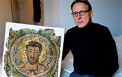 미술계 인디아나 존스 6세기 모자이크 발견