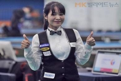스롱피아비, 8개월만에 '女3쿠션'전국대회 우승