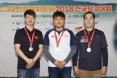 '3쿠션' 김제신 3개월만에 전국동호인대회 또 우승