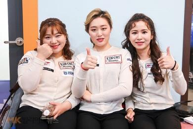 [女당구리그]잔카 김보미, 이신영 제압 팀승리 견인