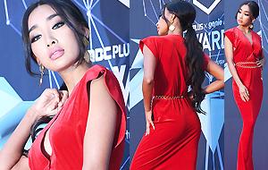 문가비 '치명적인 레드 섹시'