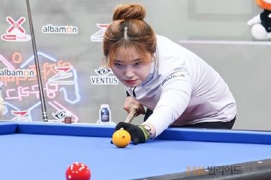 [女당구리그]심리스, 벤투스 꺾고 12승째 '1위질주'