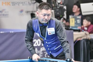 서현민, '세계 최강' 쿠드롱 꺾고 16강 진출