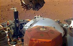 화성 탐사선 인사이트<br> 2m 로봇팔 가동