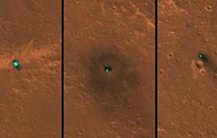 화성 착륙한 인사이트호 낙하산·열방패 공개