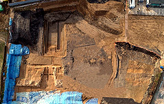풍납토성 서쪽 성벽 외벽 첫 확인 최소 31m