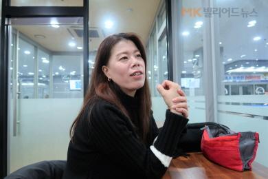 LGU+3쿠션 장내아나운서 '그녀', 챔피언 도전 선언