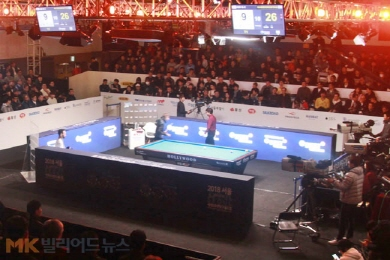 '韓 3연패 도전' 세계팀3쿠션 내년 3월 열린다