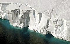 남극 빙하 유실 40년 사이 6배 늘어나