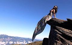 대만 비키니 등산가 산에서 추락해 숨져