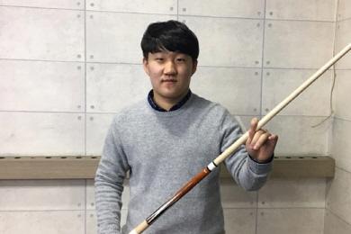 """매탄고 김도헌 """"새해엔 세계주니어3쿠션 출전 목표"""""""