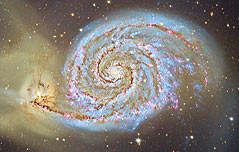 다른 은하와 만남 기억하는 로맨틱은하