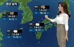 KBS9시뉴스 대형사고 전날 날씨예보로 나가