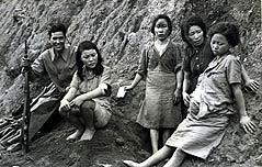 포로수용소 만삭 위안부 사진 실물 첫 공개