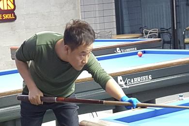 50대 동호인 등 3명 충남연맹 당구선수로