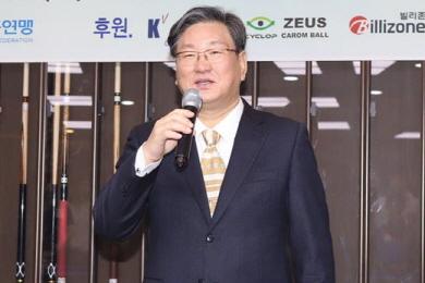 """수원당구연맹 이재복 회장 """"실업팀 창단 추진"""""""