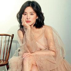 송혜교, 변치않는 여신 미모