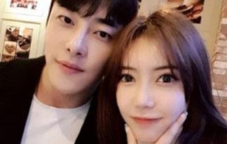 모델 지호진, 꽃미남 헬스<br>트레이너와 4월 결혼