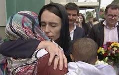 참사 속에 빛난 뉴질랜드 총리의 지도력