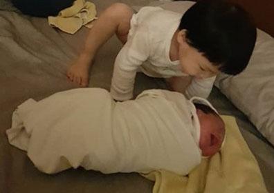 """정주리 득남, 다둥이 엄마 됐다 """"자연주의 출산"""" [M+★SNS]"""