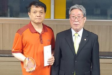 '당인' 정인수배 당구대회 우승은 전북연맹 전성일