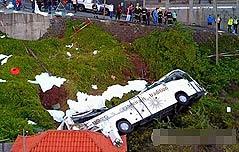 마데이라섬서 관광버스 추락으로 29명 사망