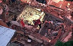 브라질 건물 붕괴사고 마지막 실종자 발견