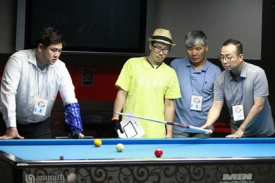 시민과 함께하는 서울당구연맹 선수들