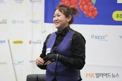 김민아 인제오미자배 女3쿠션 우승…2관왕