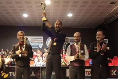 '세계 4위' 세이기너 '터키 3쿠션챔피언십' 우승