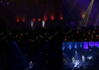 블락비 태일·박경, 콘서트 '합주실'…팬과 '완벽 소..