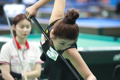 김가영 8개월만에 전국 포켓볼대회 정상