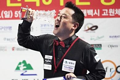 조재호 '진검승부'끝 조명우 꺾고 태백산배 우승…올 세 번째 정상