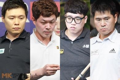 윤균호-이상용, 선지훈-강승구 'PBA드림투어' 4강 압축