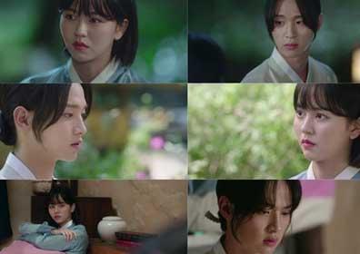 '녹두전' 장동윤♥김소현, 아찔하고 설레는 첫 키스 ..