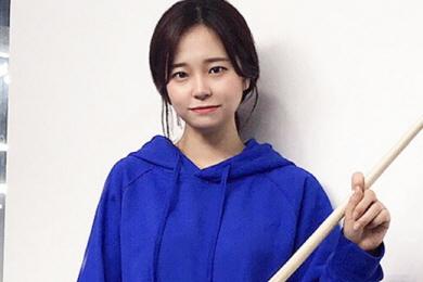 3쿠션 2년만에 전국동호인대회 우승  '당찬 신예' 박민지