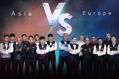 아시아 vs 유럽 '3쿠션' 대항전 '컨티넨탈컵' 열린다