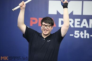 '0:2→4:2' 선지훈 PBA드림투어 역전 우승…두 번째 정상