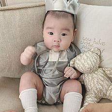 이필모, 대감 포스 아들 공개