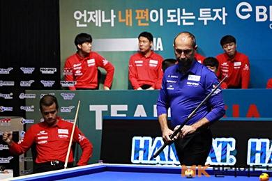 아시아-유럽 대륙간 3쿠션대회 '컨티넨탈컵' 스타트