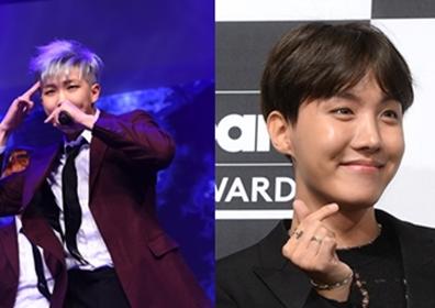 한국 음악저작권협회, 방탄소년단 RM·제이홉 정회원 승격…역시 '작곡돌'